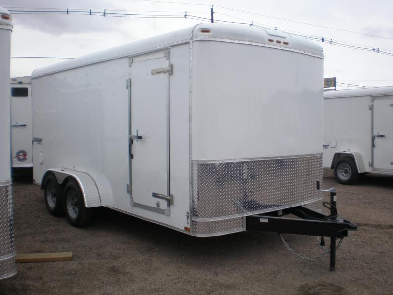 2020 Homesteader 7x16 Enclosed Cargo Trailer W/Ramp Door