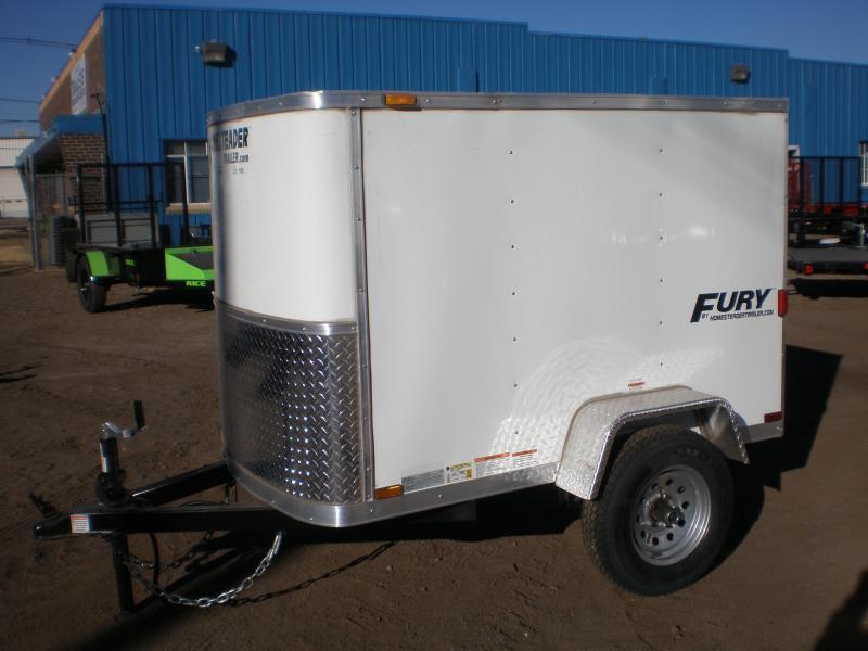 2020 Homesteader 4x6 Enclosed Cargo Trailer