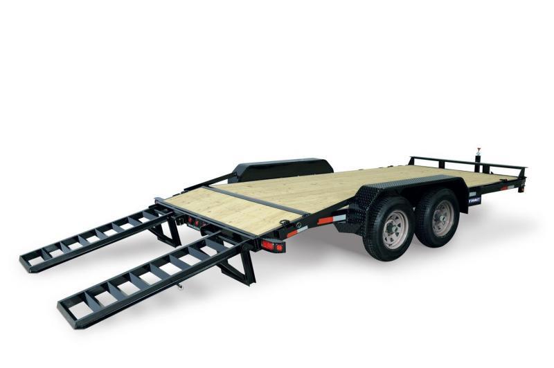 2020 Sure-Trac 7 X 18 10K IMPLEMENT Equipment Trailer