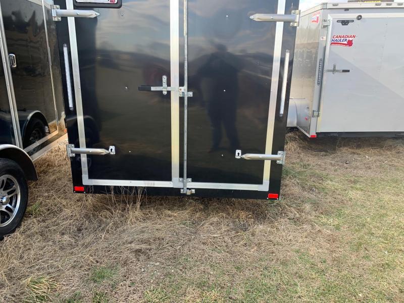 2019 American Hauler 6x12 Single Axle Enclosed Cargo Trailer