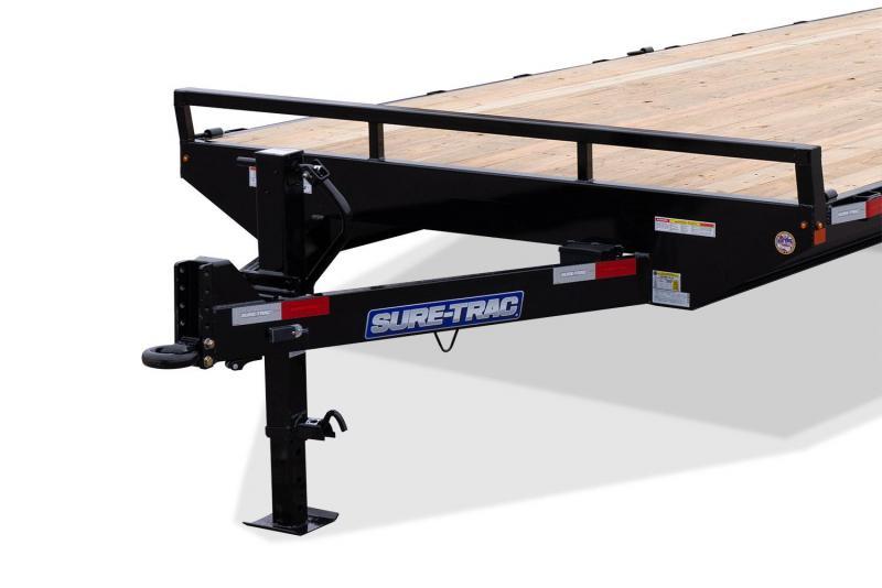 2019 Sure-Trac 8.5 X 18+4 15K DECKOVER Equipment Trailer