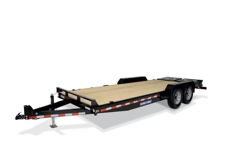 2020 Sure-Trac 81 X 17+3 14K IMPLEMENT Equipment Trailer
