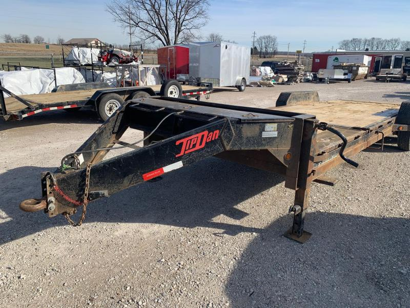 2017 Gatormade Trailers 7 X 20 TILT Equipment Trailer