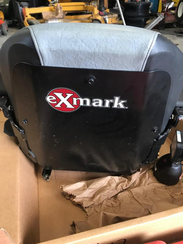 2016 Exmark High Back Seat Attachment