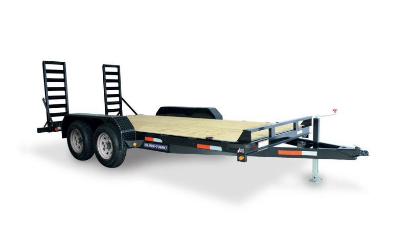 2020 Sure-Trac 7 X 16 10K IMPLEMENT Equipment Trailer