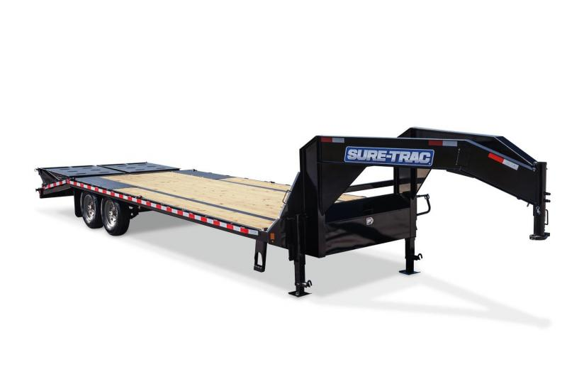 2019 Sure-Trac 8.5 x 20+5 15K Gooseneck Deckover Equipment Trailer