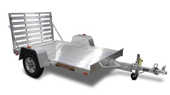 Aluma 63 x 96 Aluminum Trailer with Bi-Fold Gate