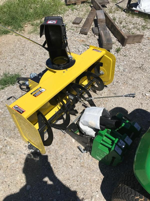 2015 John Deere 44 Snowblower