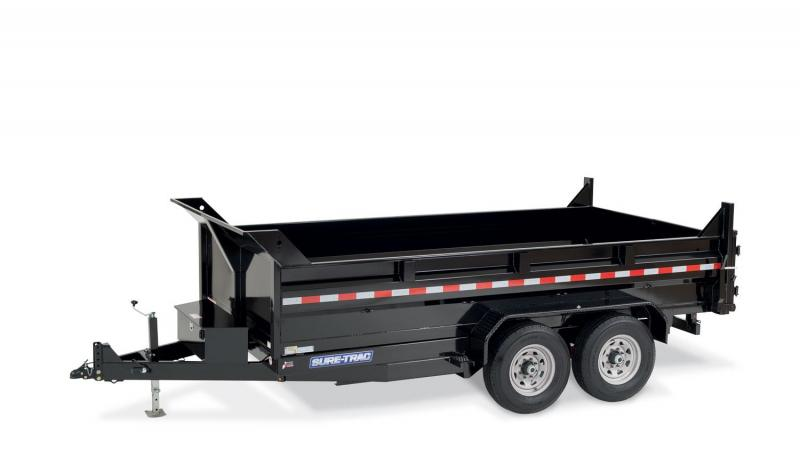 2020 Sure-Trac 8216HLODB140 Dump Trailer