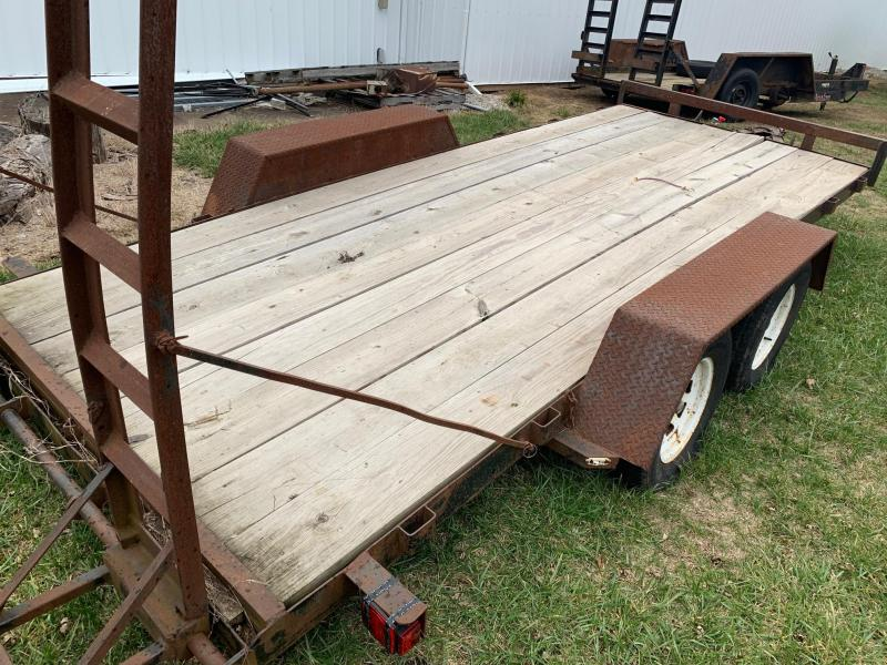 2020 Other 7x16 TANDEM Other Trailer