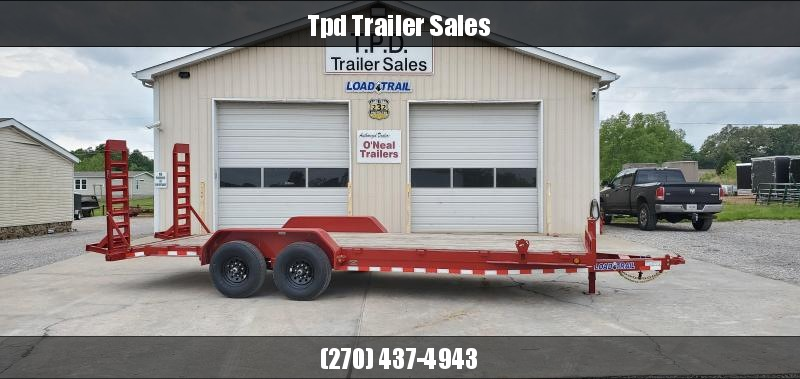 "2020 Load Trail 83""X22' Equipment Trailer"