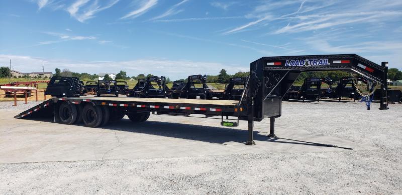 "2020 Load Trail 102""X32' Hydraulic Dovetail Gooseneck Trailer"