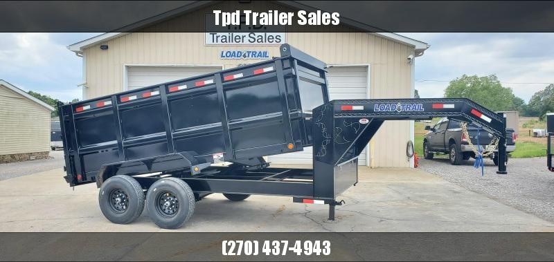 "2020 Load Trail 83""X14' Gooseneck Dump Trailer"
