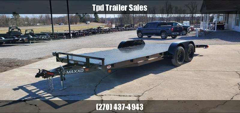 "2020 Maxxd 83""X20' Steel Floor Car Hauler"