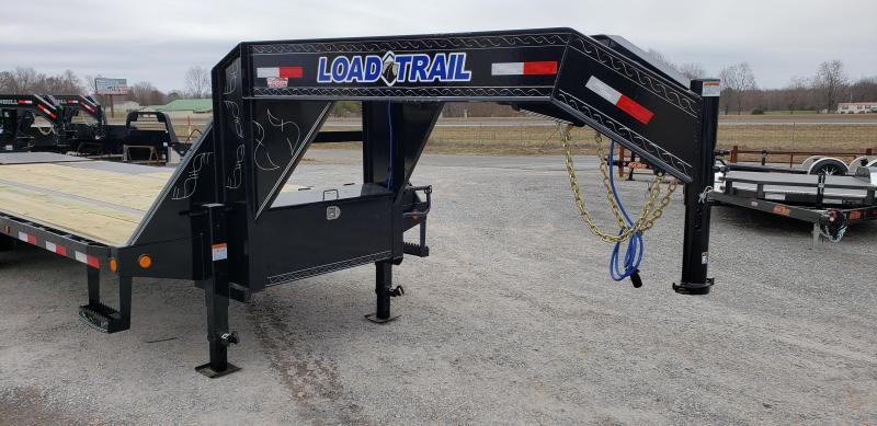 "2019 Load Trail 102""X25' Gooseneck Trailer"