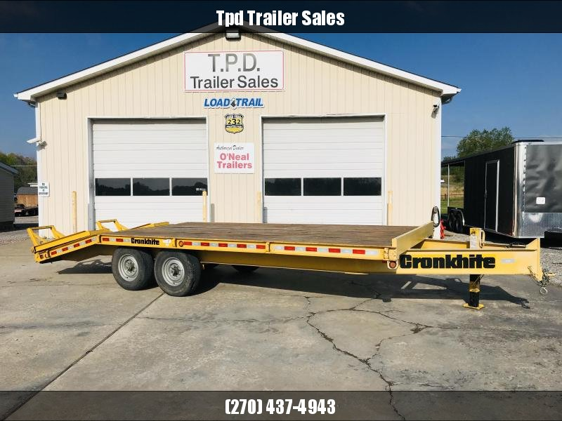 "2011 Cronkhite 102""X21' Equipment Trailer"