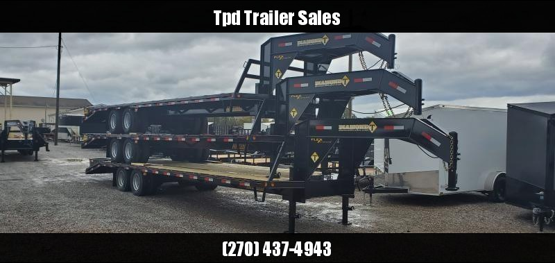 "2020 Diamond T 102""X32' Gooseneck Trailer"