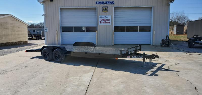 "2020 Maxxd 83""X20' Steel Floor Car Hauler"