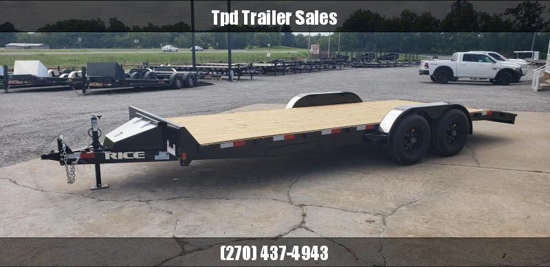 "2020 Rice 82""X20' Equipment Trailer"
