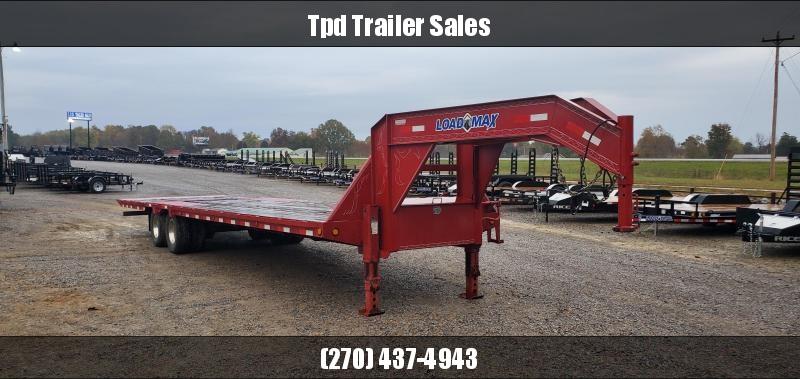 "2013 Load Trail 102""X32' Hydraulic Dovetail Gooseneck Trailer"