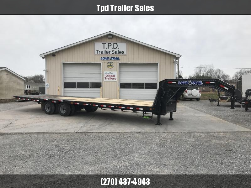 "2020 Load Trail 102""X32' Hydraulic Dovetail Gooseneck Trailer"