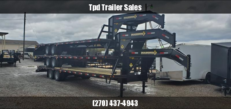 "2020 Diamond T 102""X30' Gooseneck Trailer"