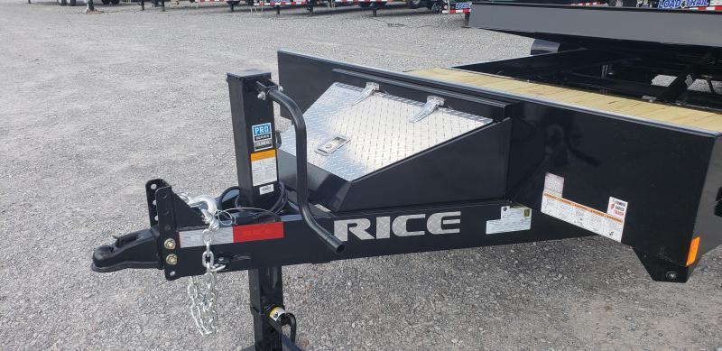 """2020 Rice 82""""X20' Tilt Trailer"""