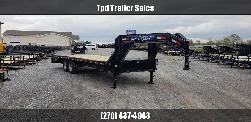 "2019 Load Trail 102""X25' Gooseneck Trailer"