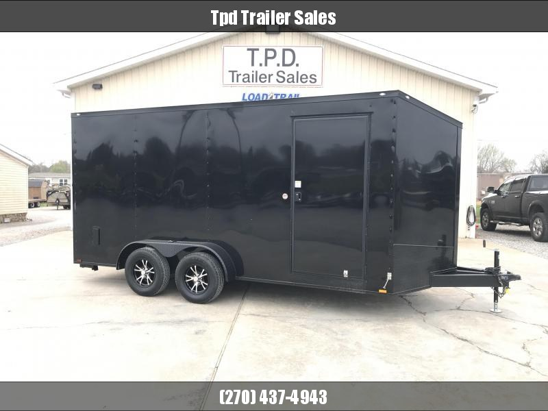 2020 Spartan Cargo 7'X16' Blackout Enclosed Trailer