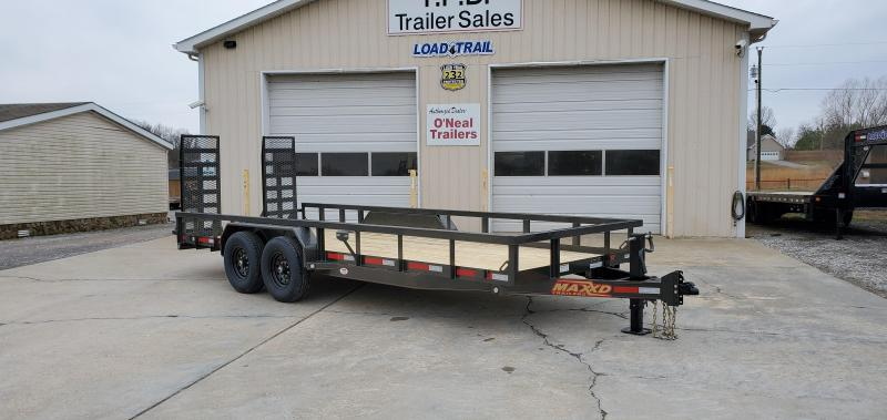 "2020 Maxxd 83""X20' Equipment Trailer"