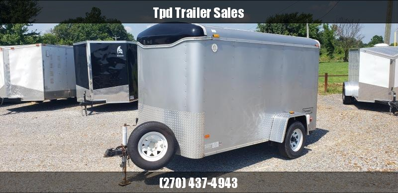 2005 Haulmark 5x10sa Enclosed Cargo Trailer