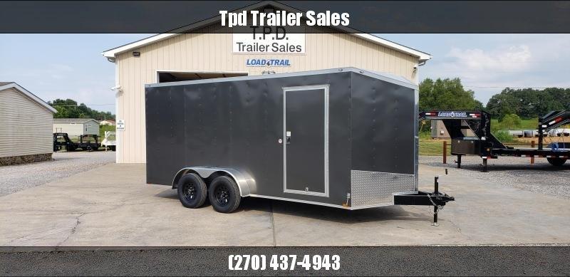 2020 Spartan 7'X16' Enclosed Trailer