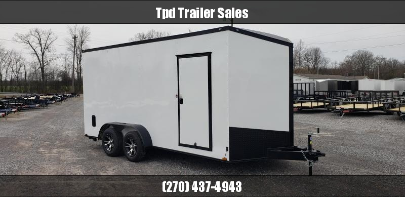 2020 Spartan 7'X16' Blackout Enclosed Trailer
