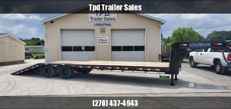 "2020 Load Trail 102""X34' Hydraulic Dovetail Gooseneck Trailer"