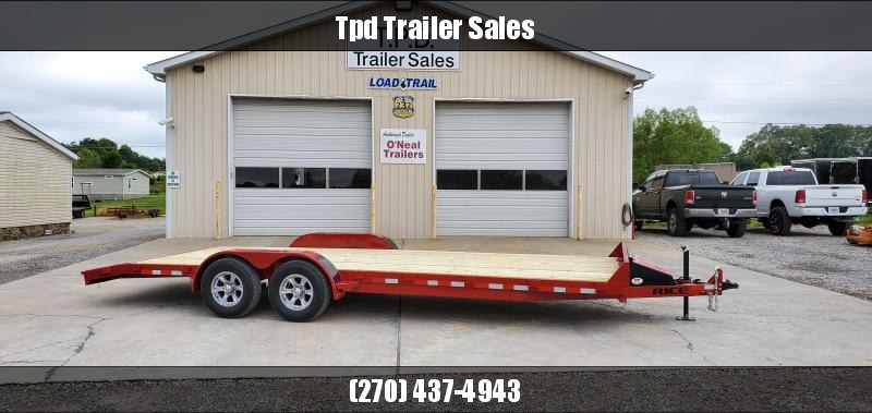 "2020 Rice 82""X22' Equipment Trailer"