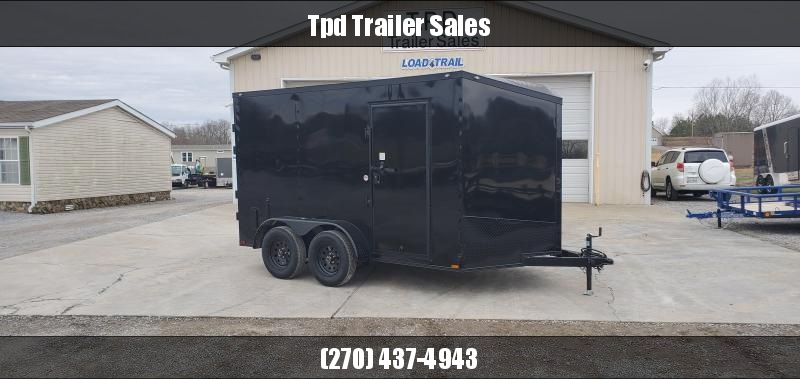 2020 Spartan 7'X12' Blackout Enclosed Trailer