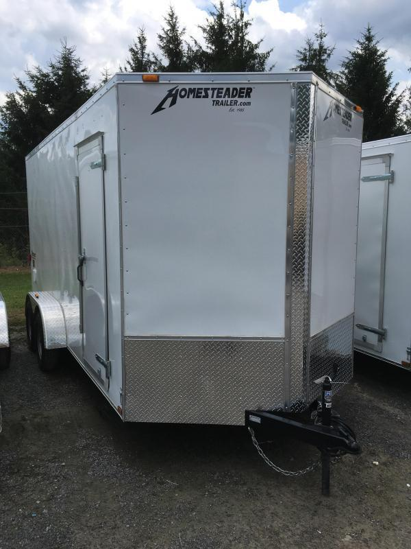 2020 Homesteader 7x16 Intrepid 1ft extra height Enclosed Cargo Trailer