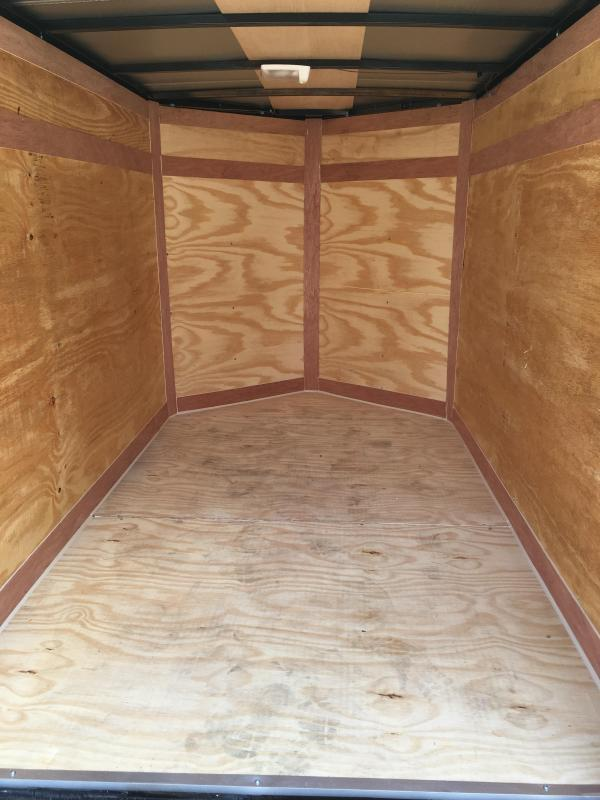 2020 Cynergy 5x8 v nose ramp only Enclosed Cargo Trailer