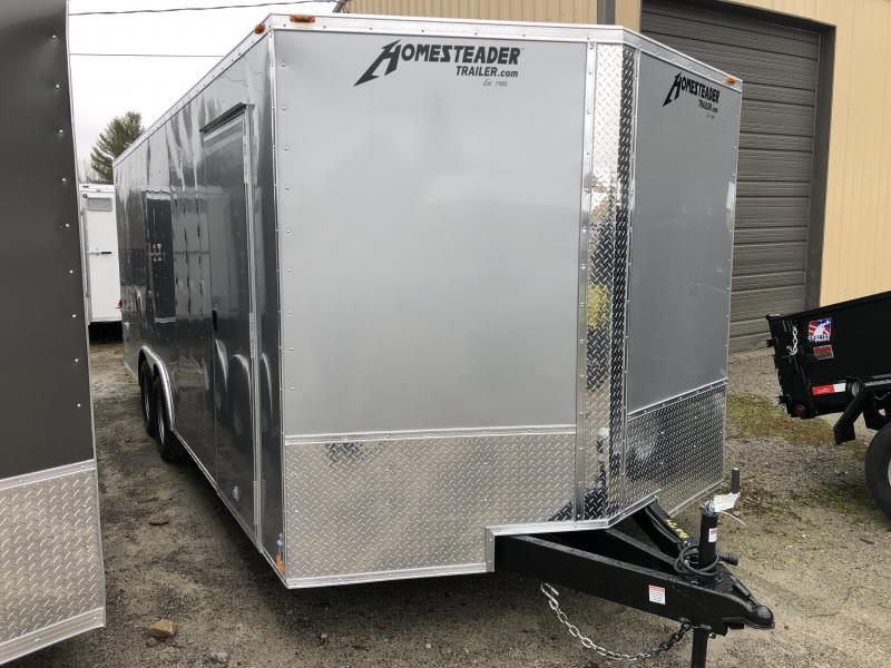 2020 Homesteader 8.5X20 Intrepid Car Hauler Enclosed Cargo Trailer