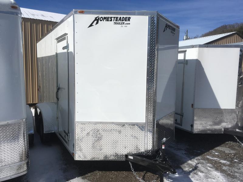 """2020 Homesteader 7x14 Intrepid 12"""" EXTRA HT sd ramp Enclosed Cargo Trailer"""