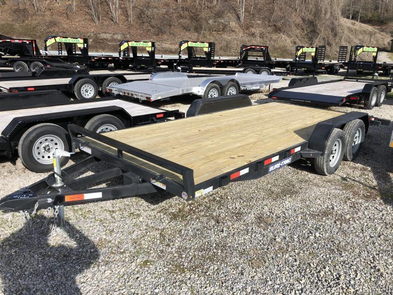 2020 Sure-Trac 82x18 Wood Floor Car Hauler Car / Racing Trailer