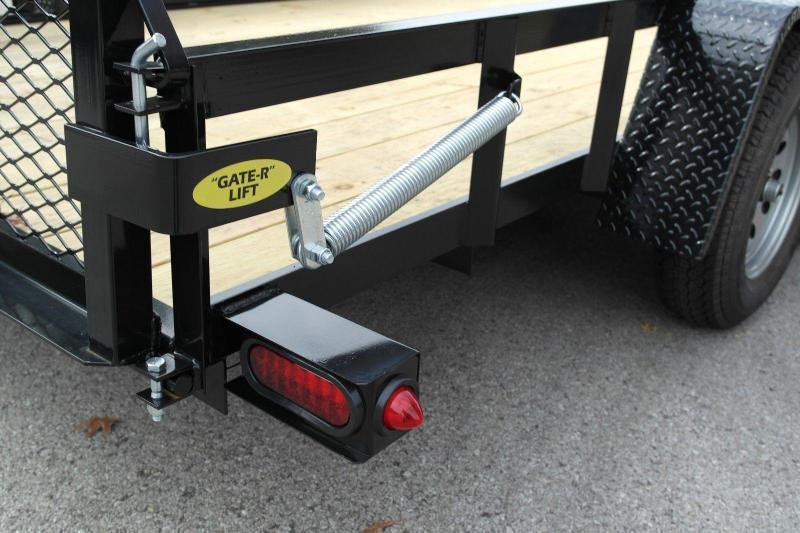 2020 Gatormade Trailers 76x12 gate single axle Utility Trailer