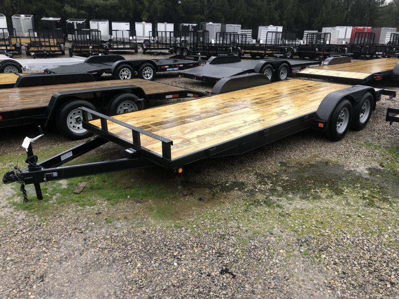 2020 Other 82x20 Wood floor channel frame Car Hauler-4 Car / Racing Trailer
