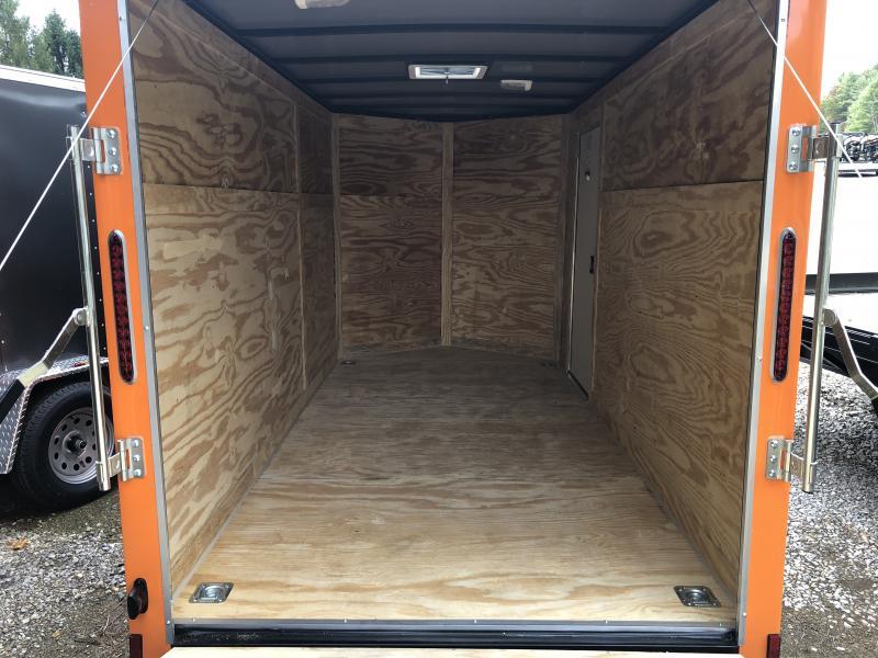 2020 Cynergy Cargo 6x12 vnose ramp slant color advanced model Enclosed Cargo Trailer