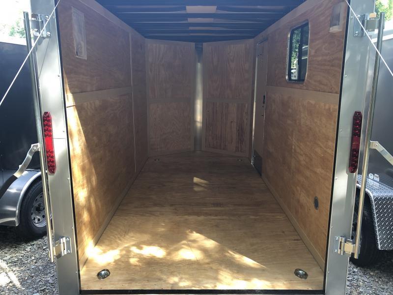 2020 Homesteader Inc. 6x12 intrepid sd ramp 6in extra ht w/window