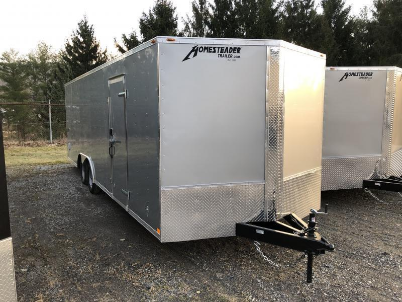 2020 Homesteader 824it 3 1/2 ton car hauler Enclosed Cargo Trailer