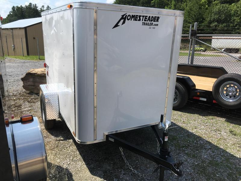 2020 Homesteader 5x8 fury swing rear door Enclosed Cargo Trailer