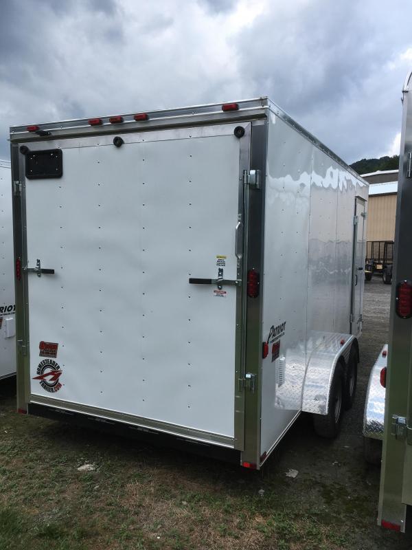 2020 Homesteader 7x16 Intrepid 1ft extra height sd ramp Enclosed Cargo Trailer