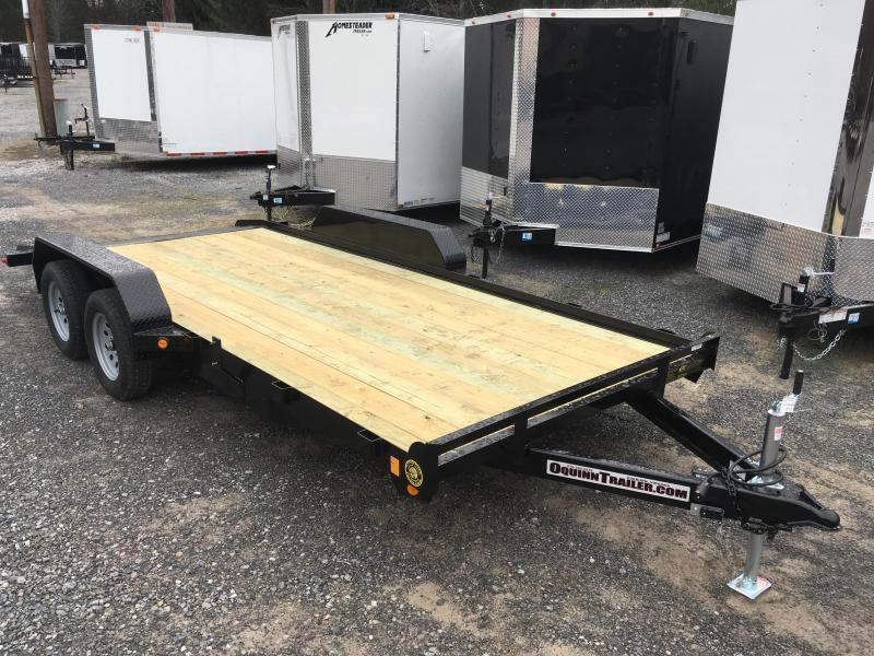 2020 Gatormade Trailers 18ft dovetail wood car hauler Car / Racing Trailer