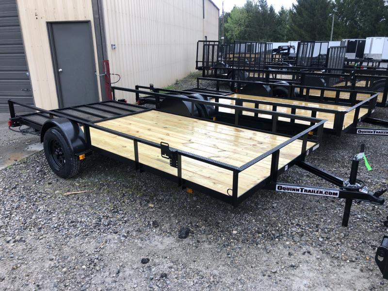 2020 Triple Crown 76x14 single axle w/gate Utility Trailer